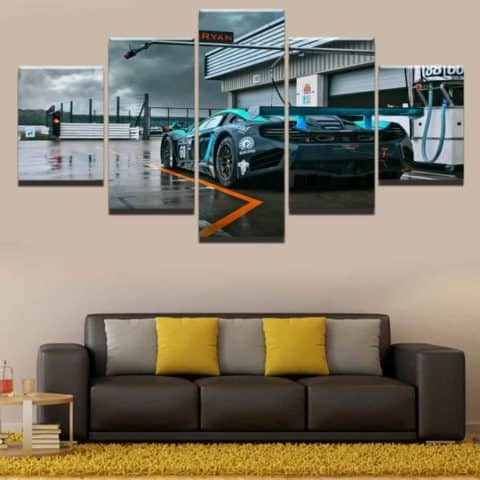 McLaren Racing Modular Wall Art Canvas