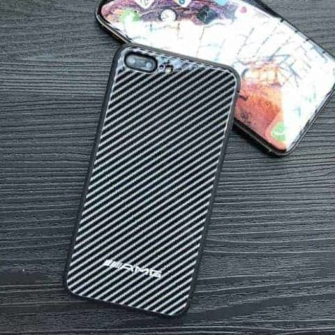 Carbon Fibre AMG Logo Phone Case