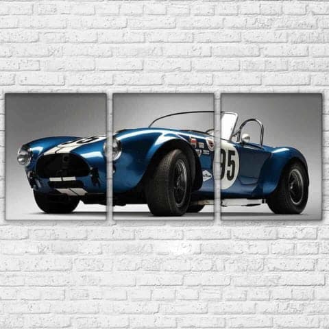 Ford Cobra Modular Wall Art Canvas