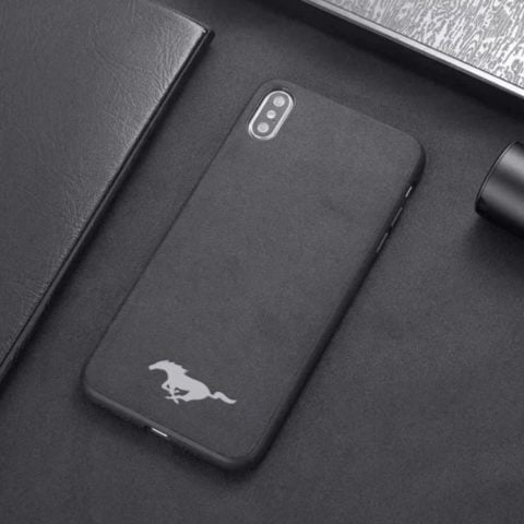 Premium Mustang Leather iPhone Case