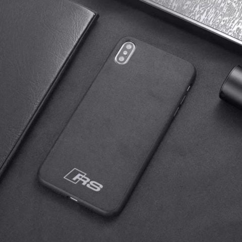 Premium Audi RS Leather iPhone Case