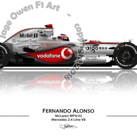 Fernando Alonso - McLaren MP4/22