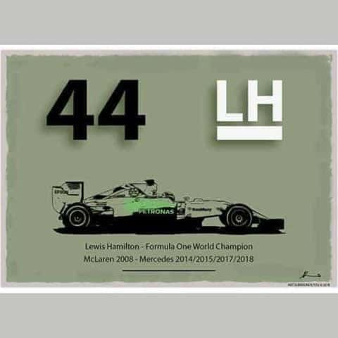 Formula One World Champions - Lewis Hamilton - Limited Edition