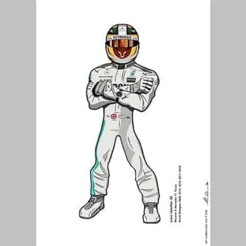 Team Lewis Hamilton - Formula One - Limited Edition