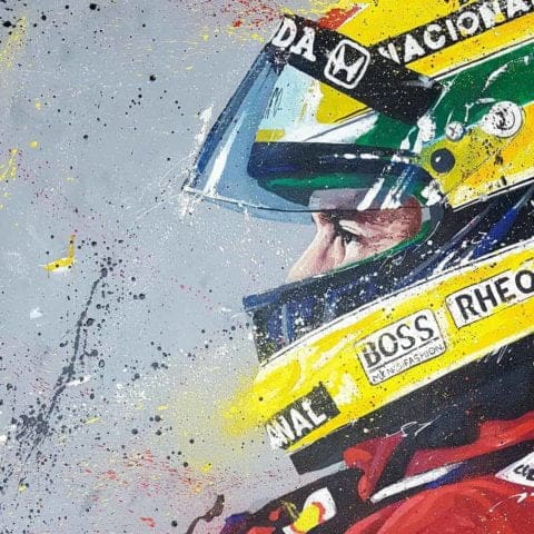 Senna 01 Limited Edition Print