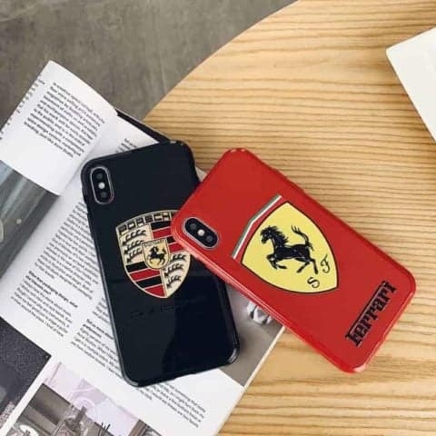 Ferrari Silicone Phone Case for iPhone