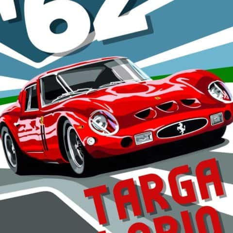 Targa Florio Poster version 2