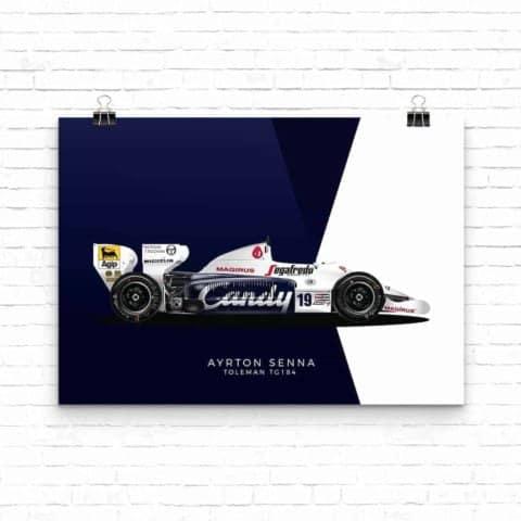 Senna Collection: Toleman TG184