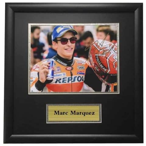 Jorge Lorenzo Ducati Autographed Signed Photo Framed