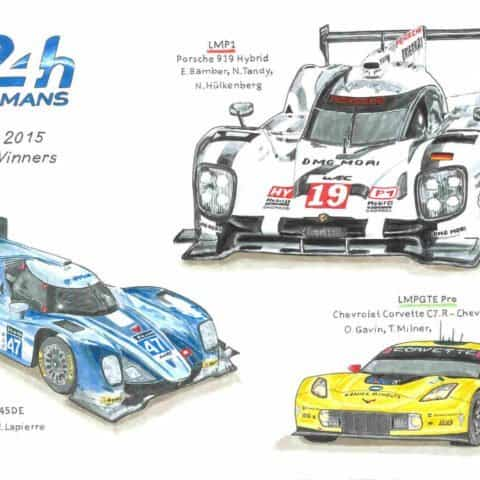 2015 - Le Mans winners, 1 of 1