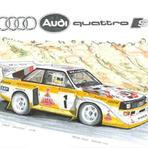 Rally group B - Audi Quattro, 1 of 1