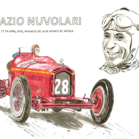 1932 Nuvolari on Alfa 8C in Monaco, 1 of 1