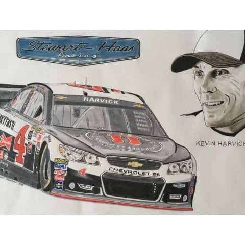 2016 Nascar - Kevin Harvick, 1 of 1