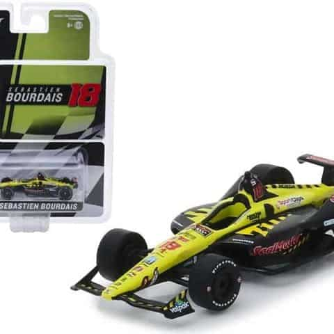 "Honda Dallara Indy Car #18 Sebastien Bourdais SealMaster"" Dale Coyne Racing with Vasser Sullivan 1/64 Diecast Model Car by Greenlight"""