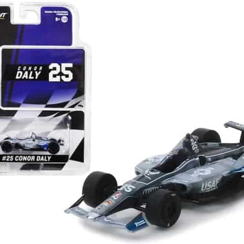 "Honda Dallara Indy Car #25 Conor Daly U.S. Air Force"" Andretti Autosport 1/64 Diecast Model Car by Greenlight"""