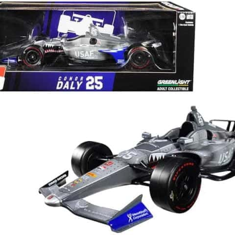 "Honda Dallara Indy Car #25 Conor Daly U.S. Air Force"" Andretti Autosport 1/18 Diecast Model Car by Greenlight"""