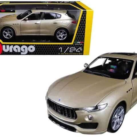 Maserati Levante Gold 1/24 Diecast Model Car by Bburago
