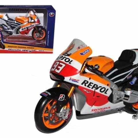 2014 Repsol Honda #93 RC2 13V Marc Marquez Motorcycle Model 1/10 by Maisto