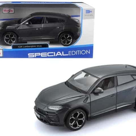 Lamborghini Urus Grey 1/24 Diecast Model Car by Maisto