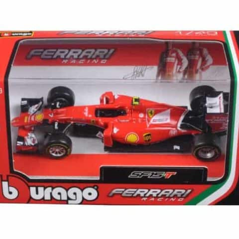 2015 Ferrari Racing Formula 1 SF15 F1 Kimi Raikkonen #7 1/43 Diecast Model Car by Bburago