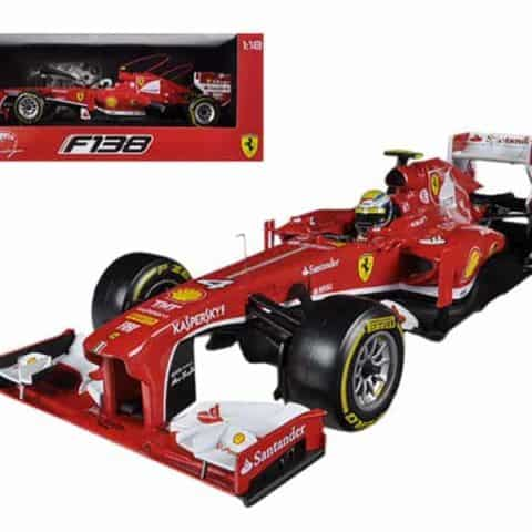Ferrari F2013 F138 Felipe Massa Formula 1 2013 F1 1/18 Diecast Car Model by Hotwheels