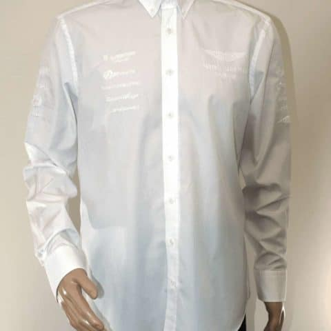 Aston Martin Racing Management, Team Kit Shirt, Mens Small White