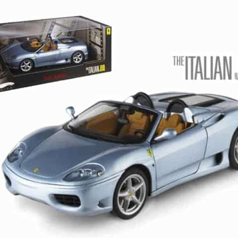"Ferrari 360 Modena Spider The Italian Job"" Movie Elite Edition 1/18 Diecast Model Car by Hotwheels"""