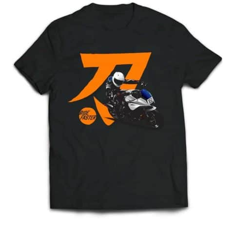 Ride Faster Suzuki Katana 852 T-shirt (Black)