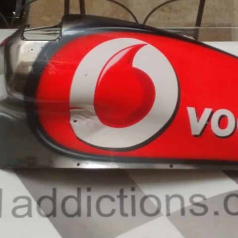 NOW SOLD-Very RARE. Hamilton / Button Mclaren sidepod