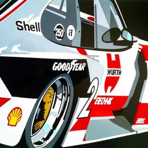 Zakspeed Original Artwork