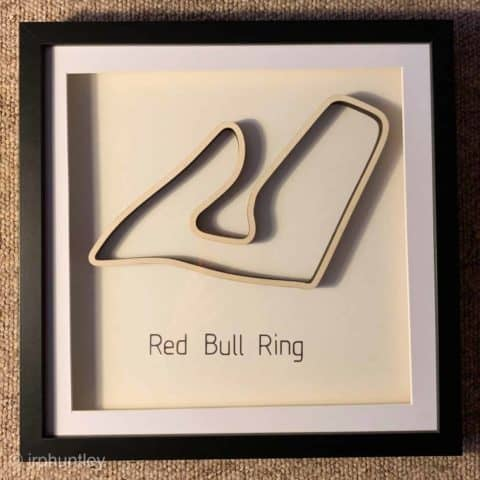 Framed F1 Track Art - Red Bull Ring - Austrian GP