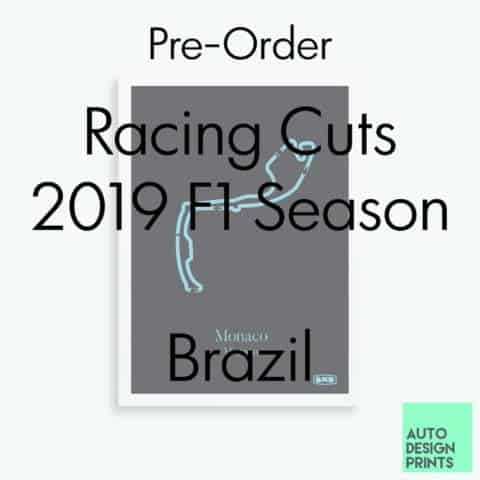 Racing Cuts - 2019 F1 Season - Brazil (Pre-Order)