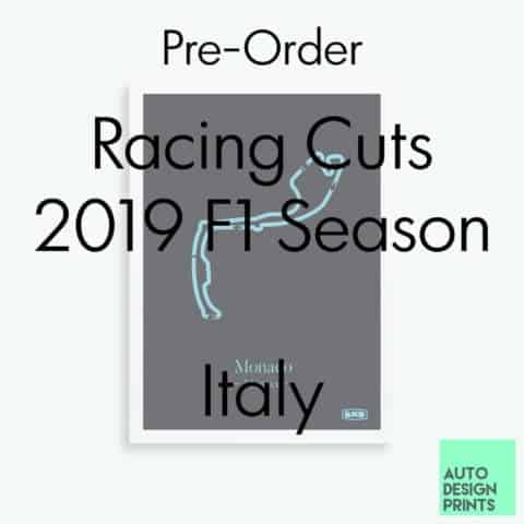 Racing Cuts - 2019 F1 Season - Italy (Pre-Order)