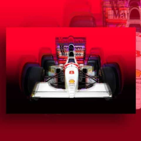 McLaren MP4 Canvas