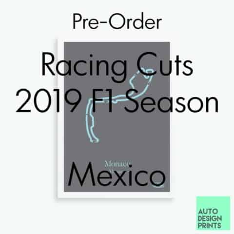 Racing Cuts - 2019 F1 Season - Mexico (Pre-Order)