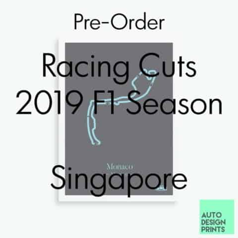 Racing Cuts - 2019 F1 Season - Singapore (Pre-Order)