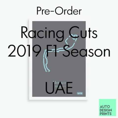 Racing Cuts - 2019 F1 Season - UAE (Pre-Order)