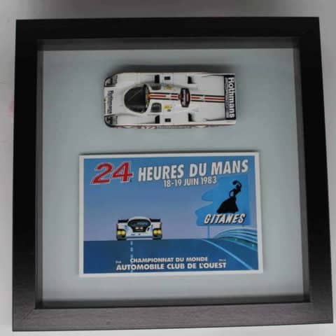 Framed Porsche 956 model (SOLD!!!)