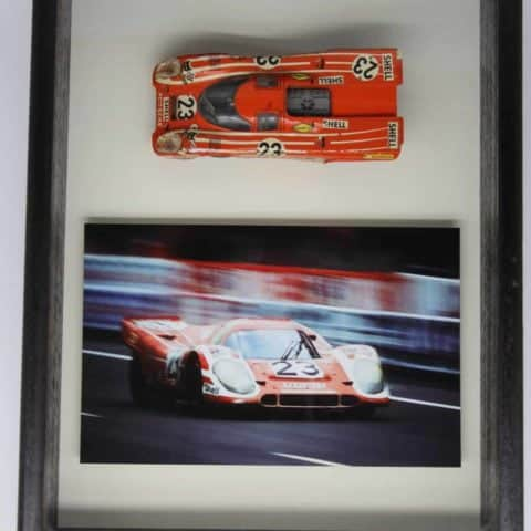 SOLD!!! framed model of Porsche 917