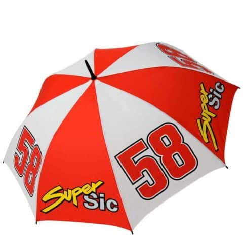 UMBRELLA Full Size Marco Simoncelli 58 SUPER SIC MotoGP Bike BSB Superbike