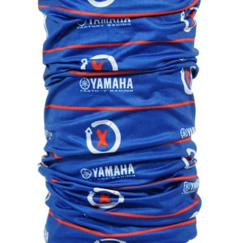 NECKTUBE Yamaha Factory Racing MotoGP Jorge Lorenzo 99 Bike Multifunctional