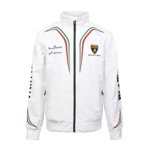 JACKET and GILET Lamborghini Windbreaker MENS Squadra Corsa Hooded