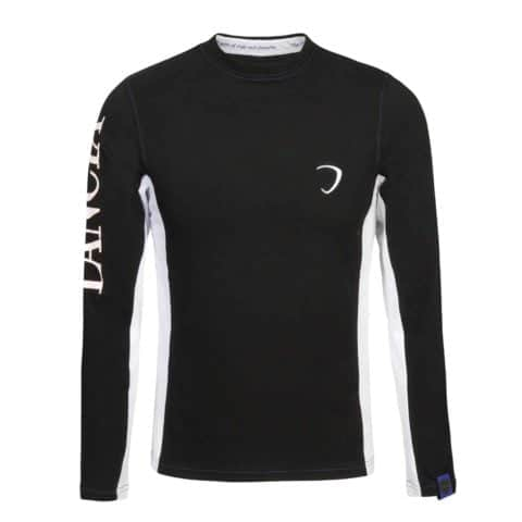 T-SHIRT Tee Lancia Delta Mens Longsleeve Rally Embroidered Black