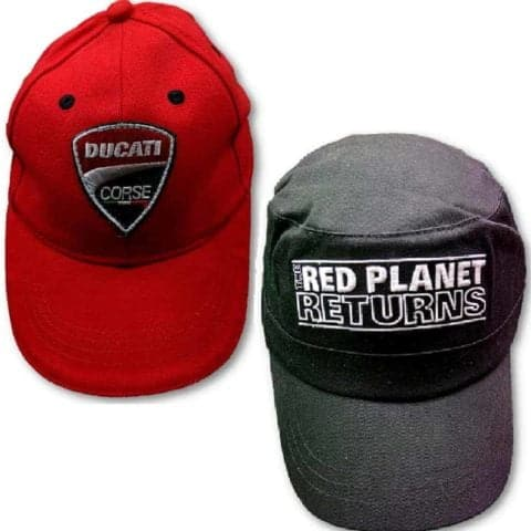 CAPS X 2 Ducati kids & Adult Red Planet WDW2010 Bike MotoGP Ducati Corse