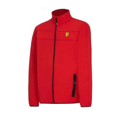JACKET Soft Shell Mens Coat Fleece Scuderia Ferrari Formula One F1 Red
