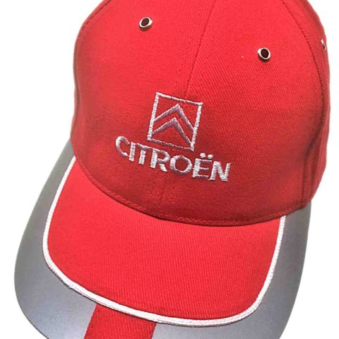 CAP WRC Citroen Racing World Rally Team Total Sponsor Red and Reflective