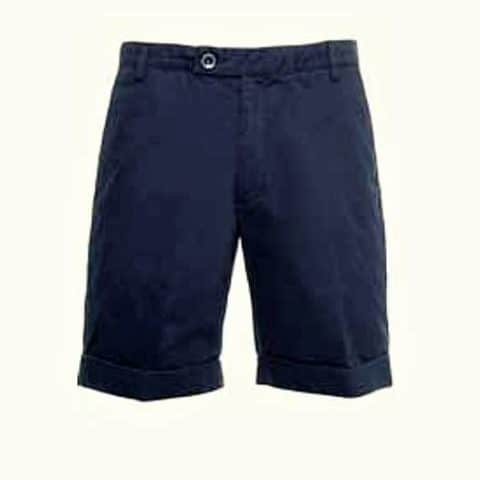 SHORTS Bermuda Cotton Formula One1 Lotus Originals Range F1 Navy Blue