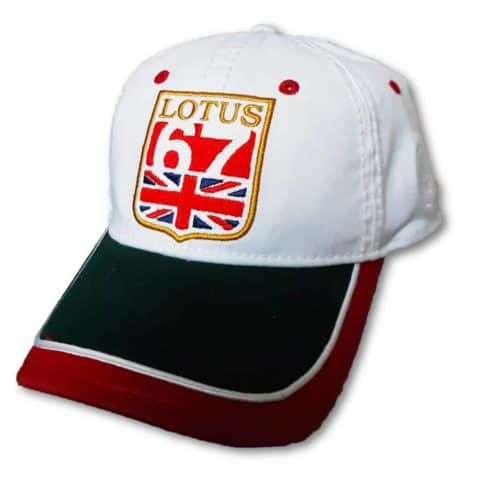 CAP LHM25 Formula One 1 Team Lotus Originals F1 LOTUS CREST White