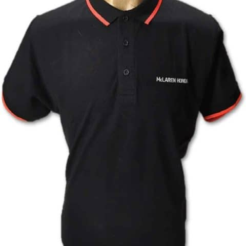 POLOSHIRT Polo ladies Formula One 1 McLaren Honda F1 Team Black Partner