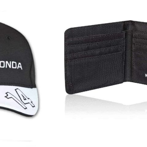 WALLET & CAP Formula One 1 McLaren Honda F1 NEW Fernando Alonso Team Cap MP4-30
